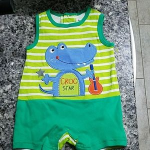 3-6 month old baby boy outfit